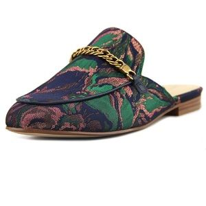 MARC FISHER MF Whiley Tapestry Jacquard Mules